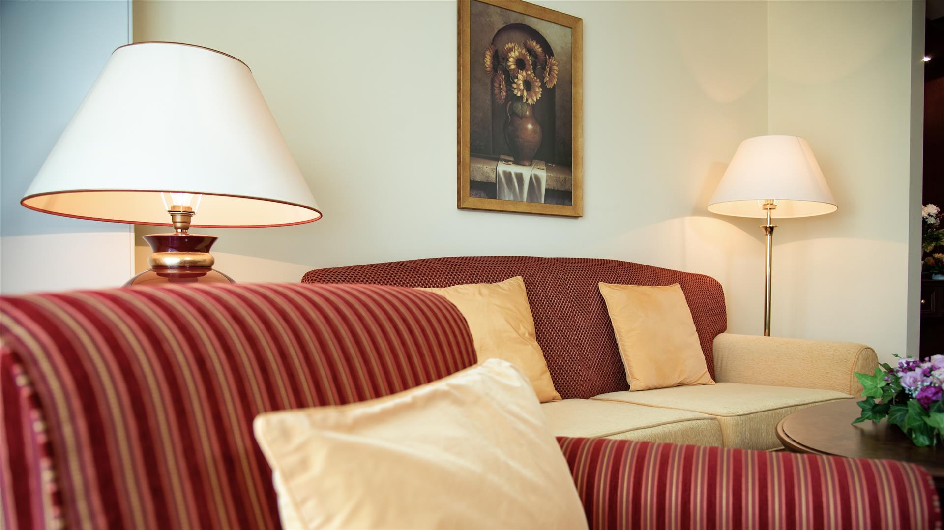 Couch im Doppelzimmer Bellevue