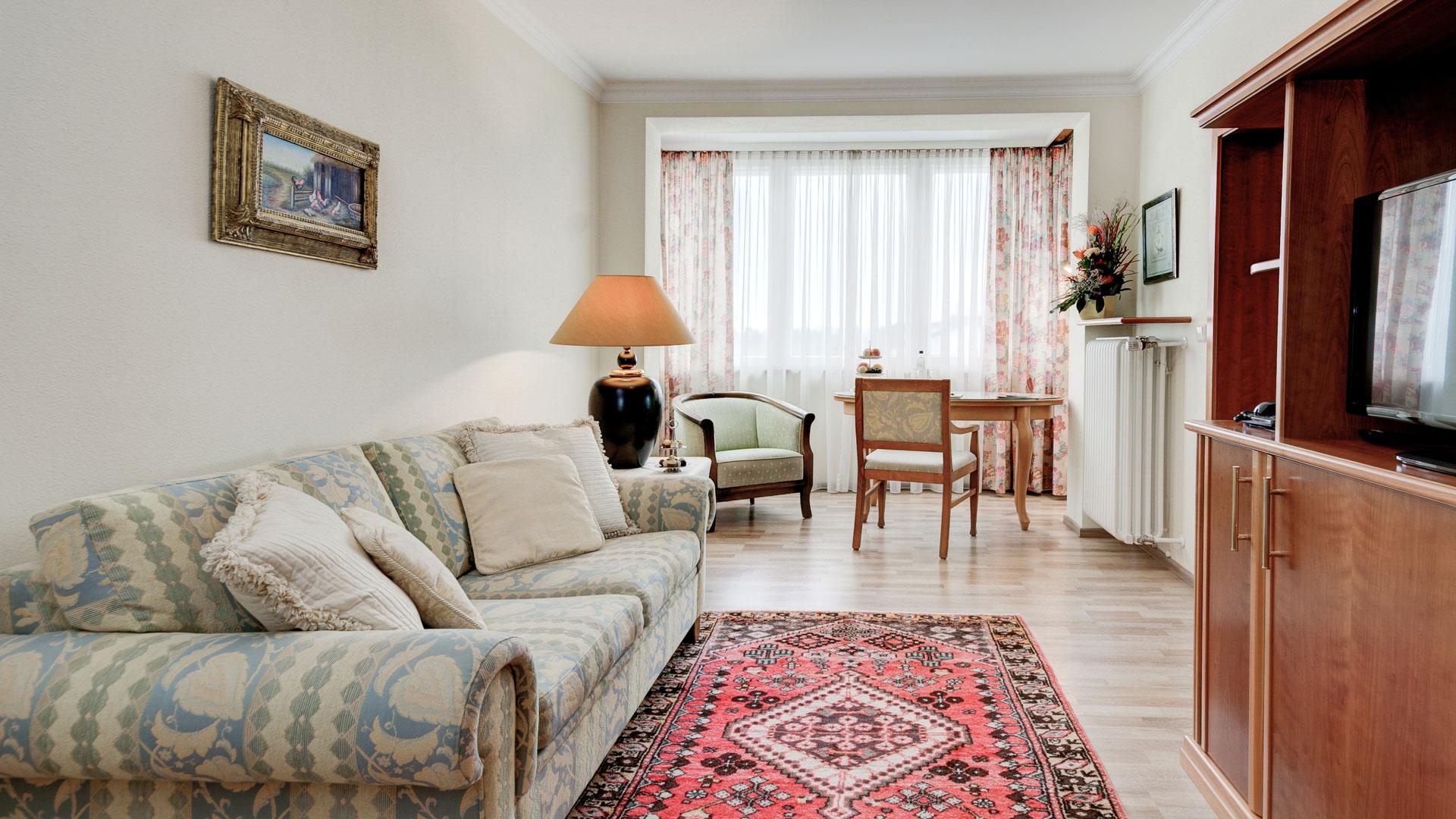 Wohnbereich der Junior Suite