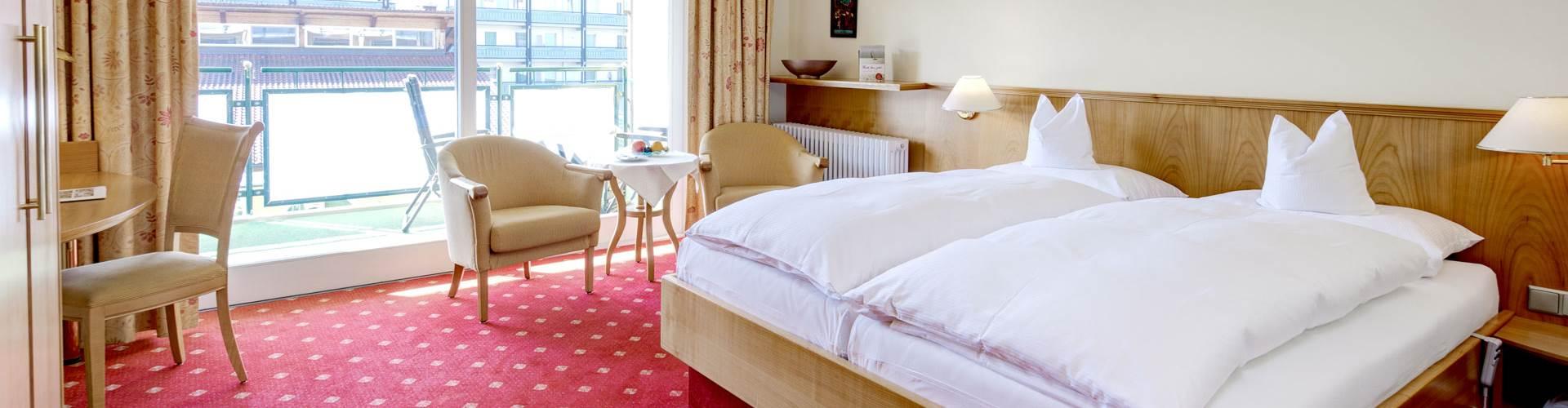 Wohn-Schlaf-Bereich vom Doppelzimmer Therme