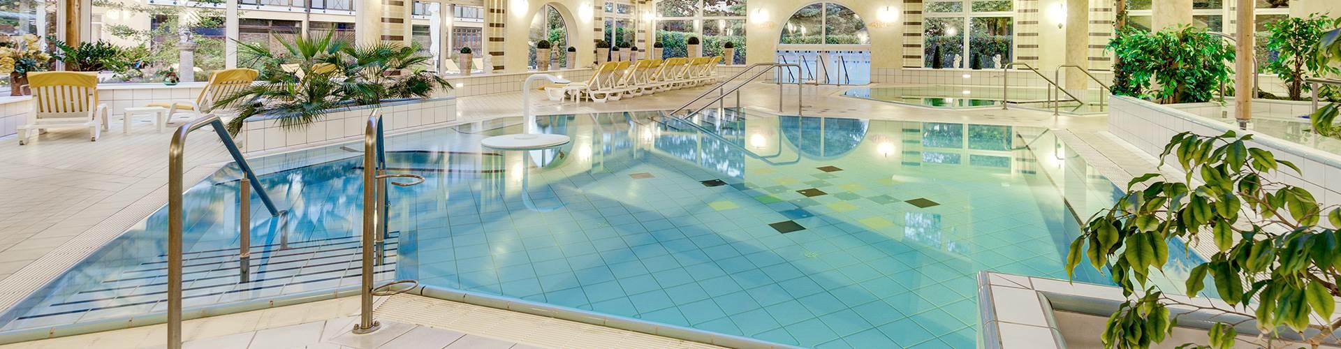 Indoor Thermalbad in einem Hotel